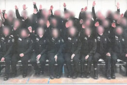 prison staff suspended for nazi salute 1