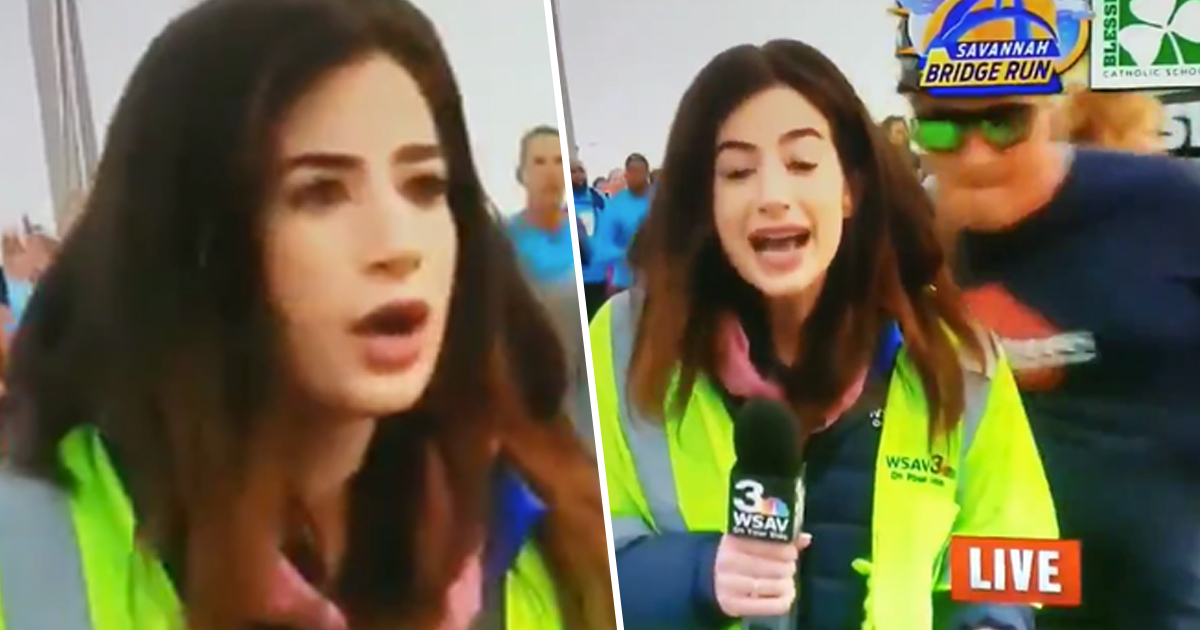 Runner Who Smacked Reporter's Butt On Live TV Banned From All Future Races