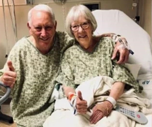 Pensioner Donates Kidney To His Wife Of 51 Years After Finding He's A Rare Match