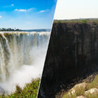 World-Famous Victoria Falls All But Dries Up In Devastating Drought