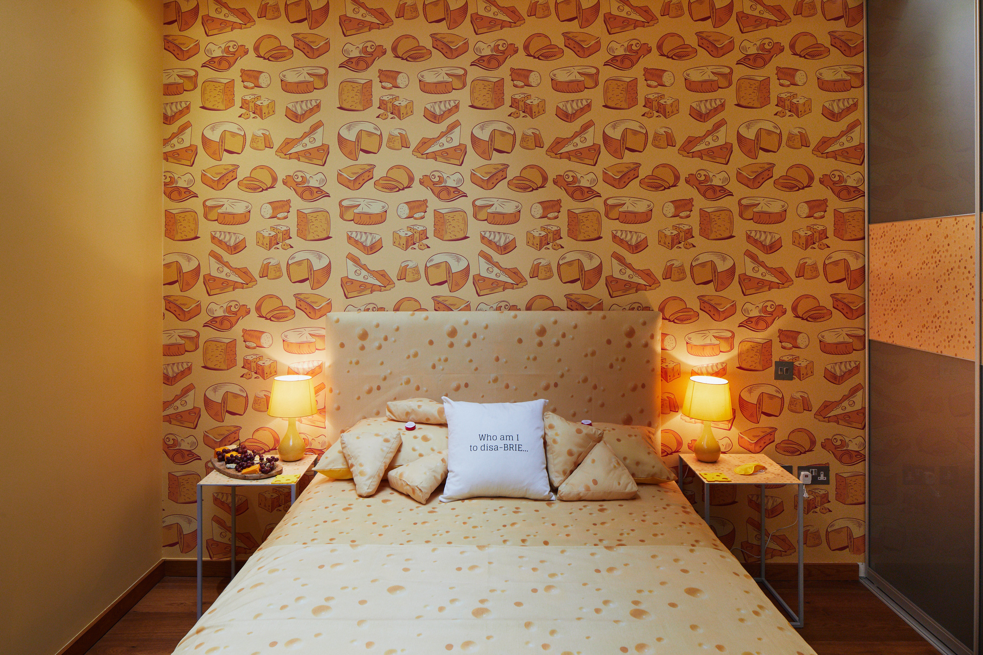 World's first cheese-themed hotel suite opens