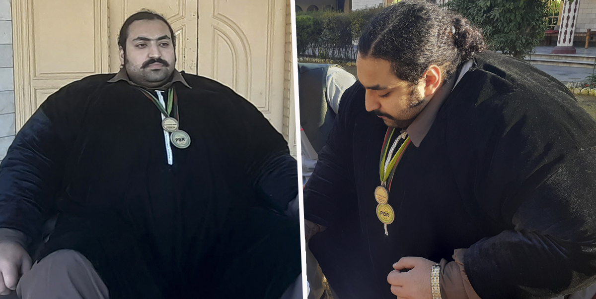 70-Stone Man Known As Pakistan's Hulk Is Looking For A Wife