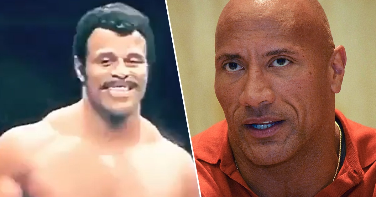 the rock pays tribute to late dad