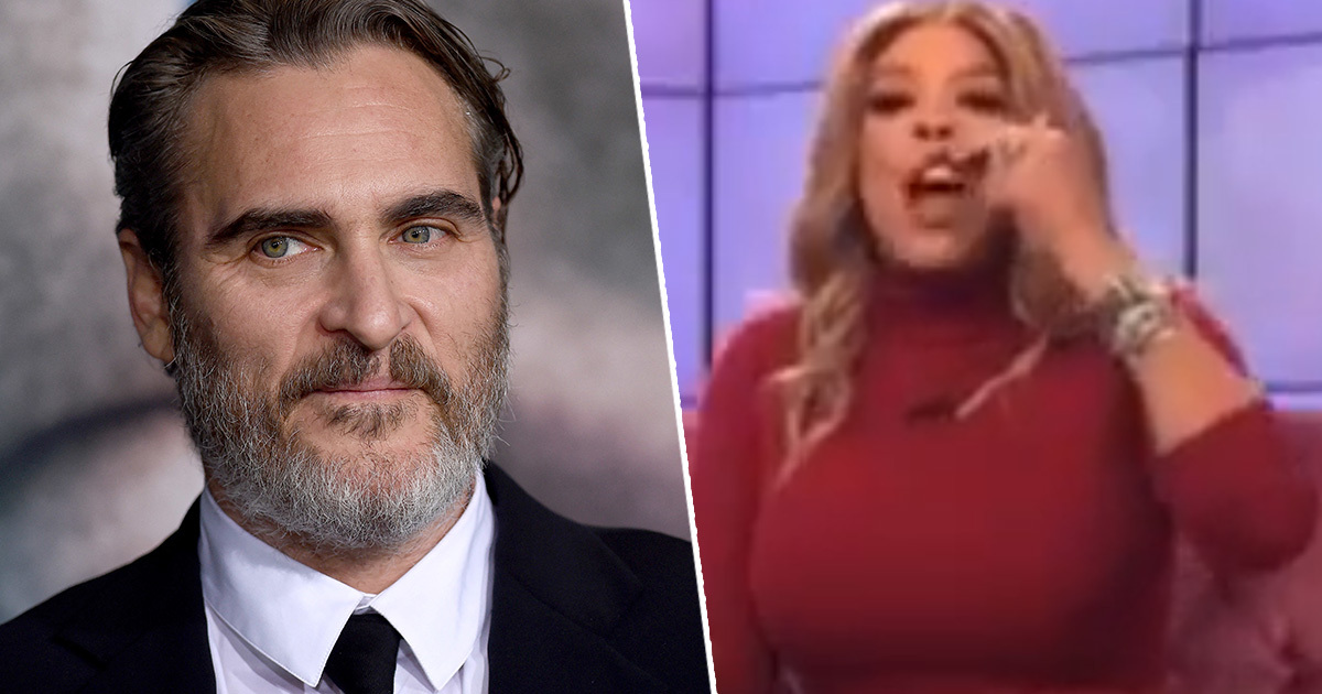 People Furious After Wendy Williams Mocks Joaquin Phoenix's Cleft Lip
