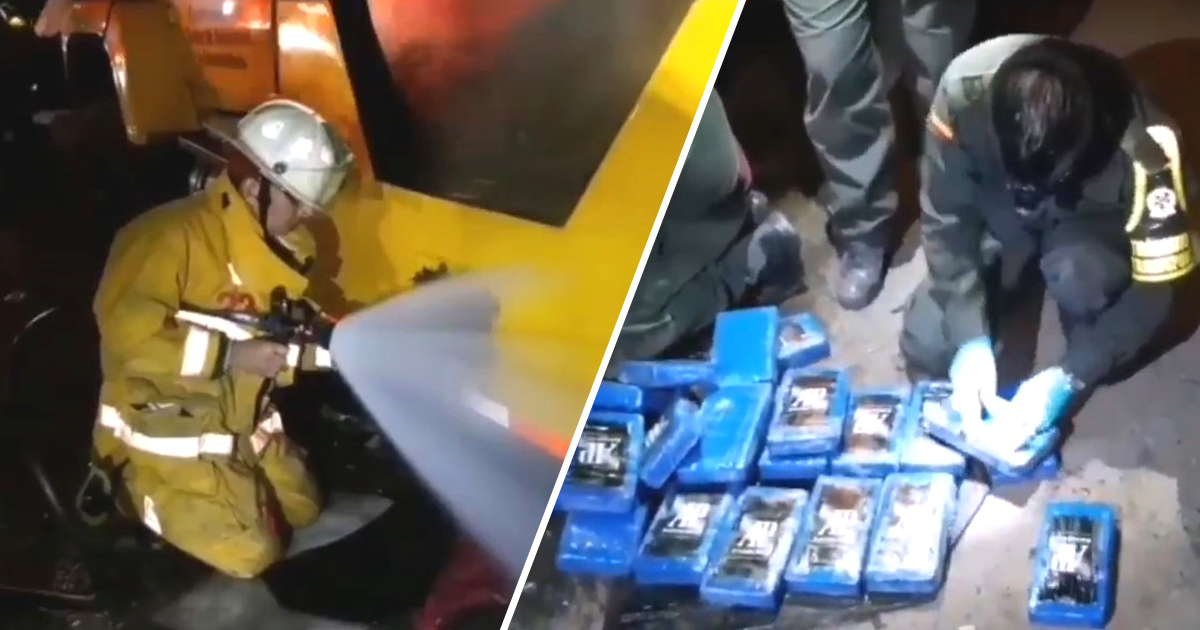 Colombia Cops Discover 528kg Of Cocaine Being Smuggled In Vats of Sh*t