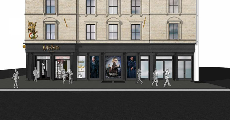 Harry Potter Store Concept Art