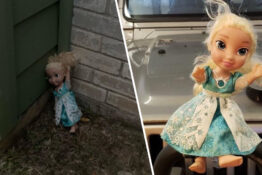 Haunted Elsa Doll