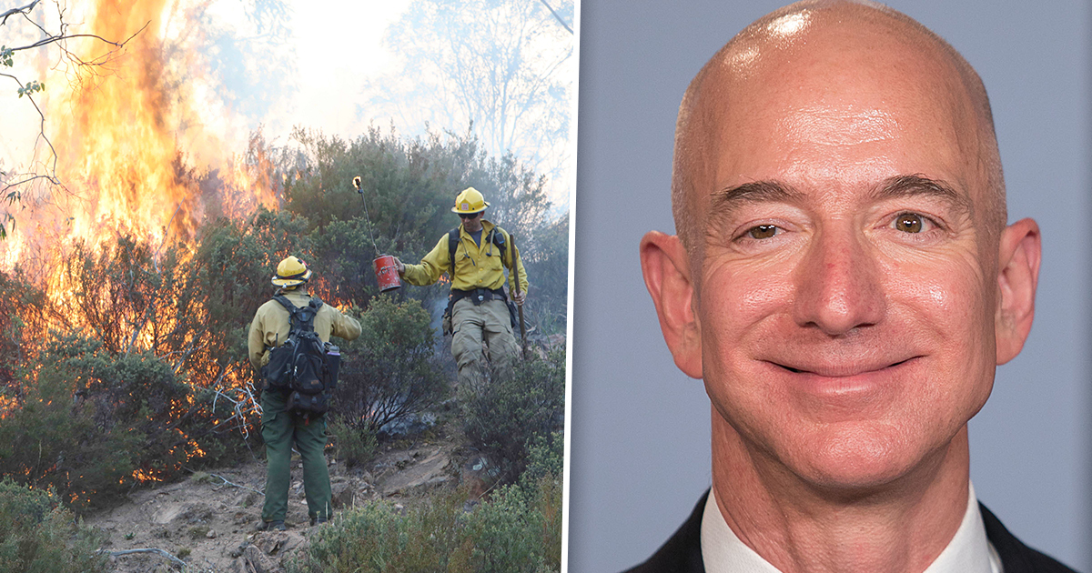 Jeff Bezos Fire Donation