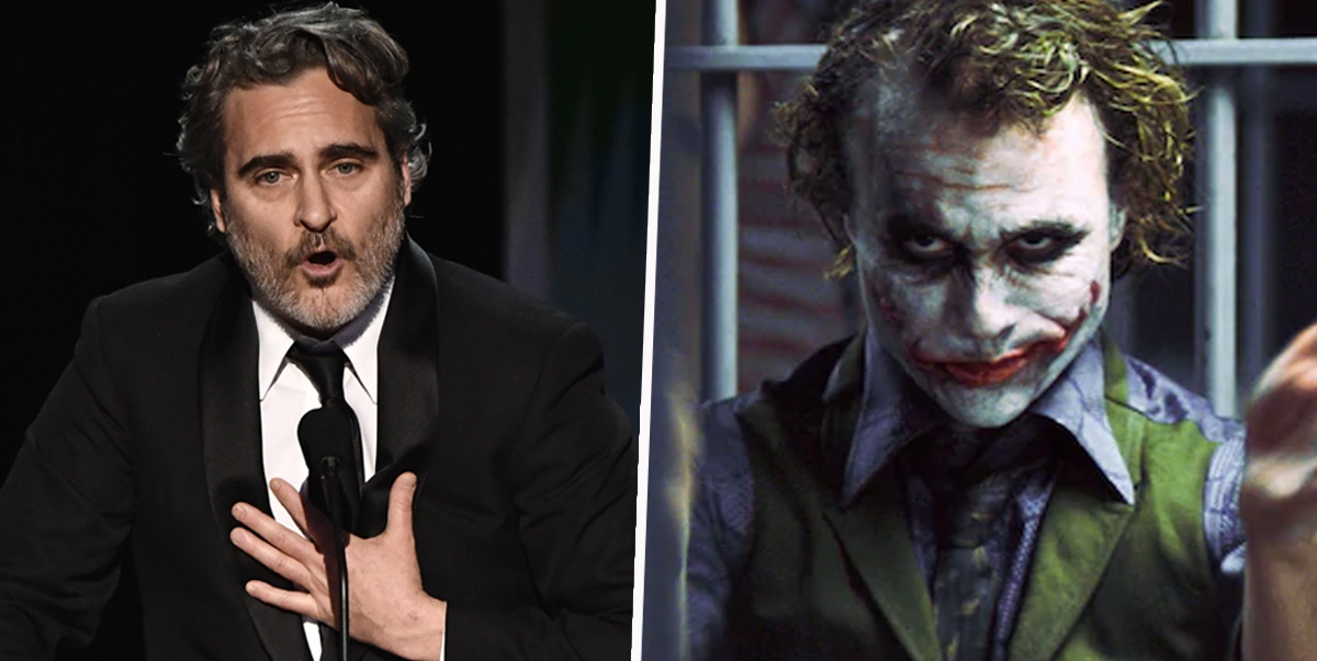 Joaquin Phoenix Thanks Heath Ledger In Acceptance Speech For Joker At SAG Awards