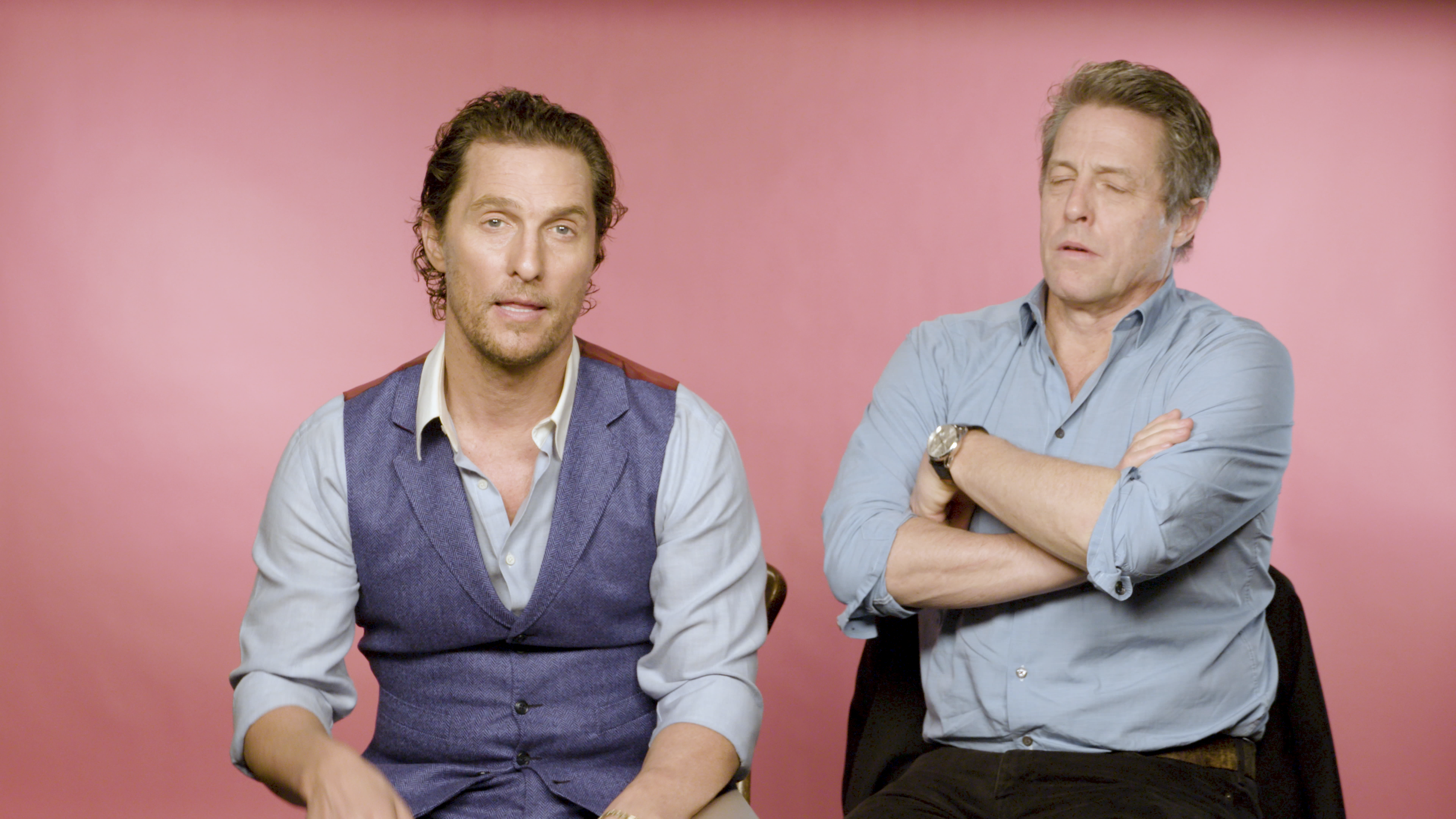 Matthew McConaughey Hugh Grant guy Ritchie The Gentleman