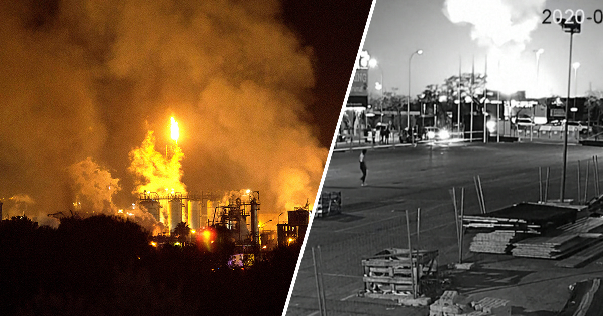 Man Killed By Debris Of Chemical Plant Explosion More Than 2km Away