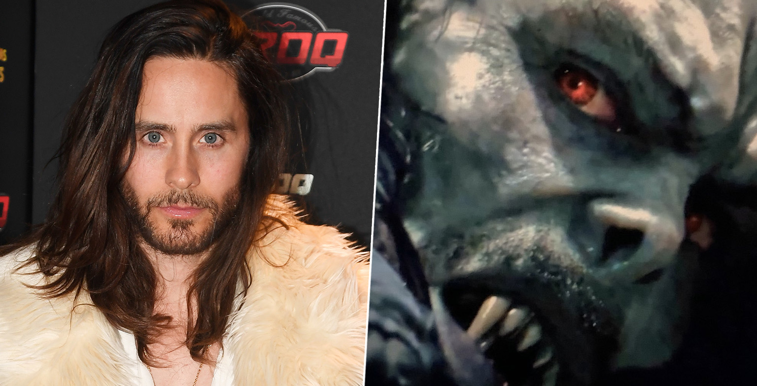 First Look At Jared Leto's Morbius Leaks Online