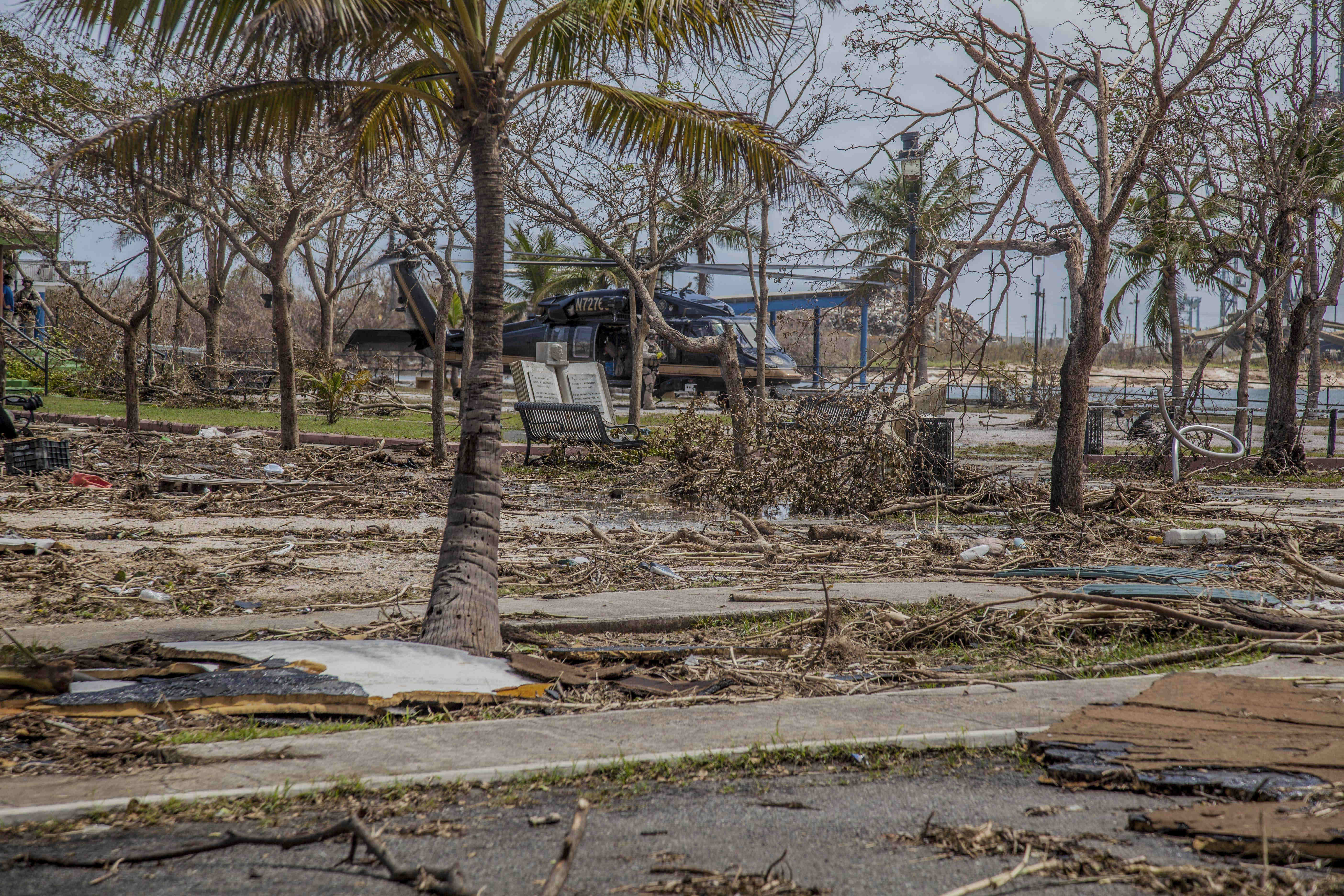 Hurricane maria aftermath ponce