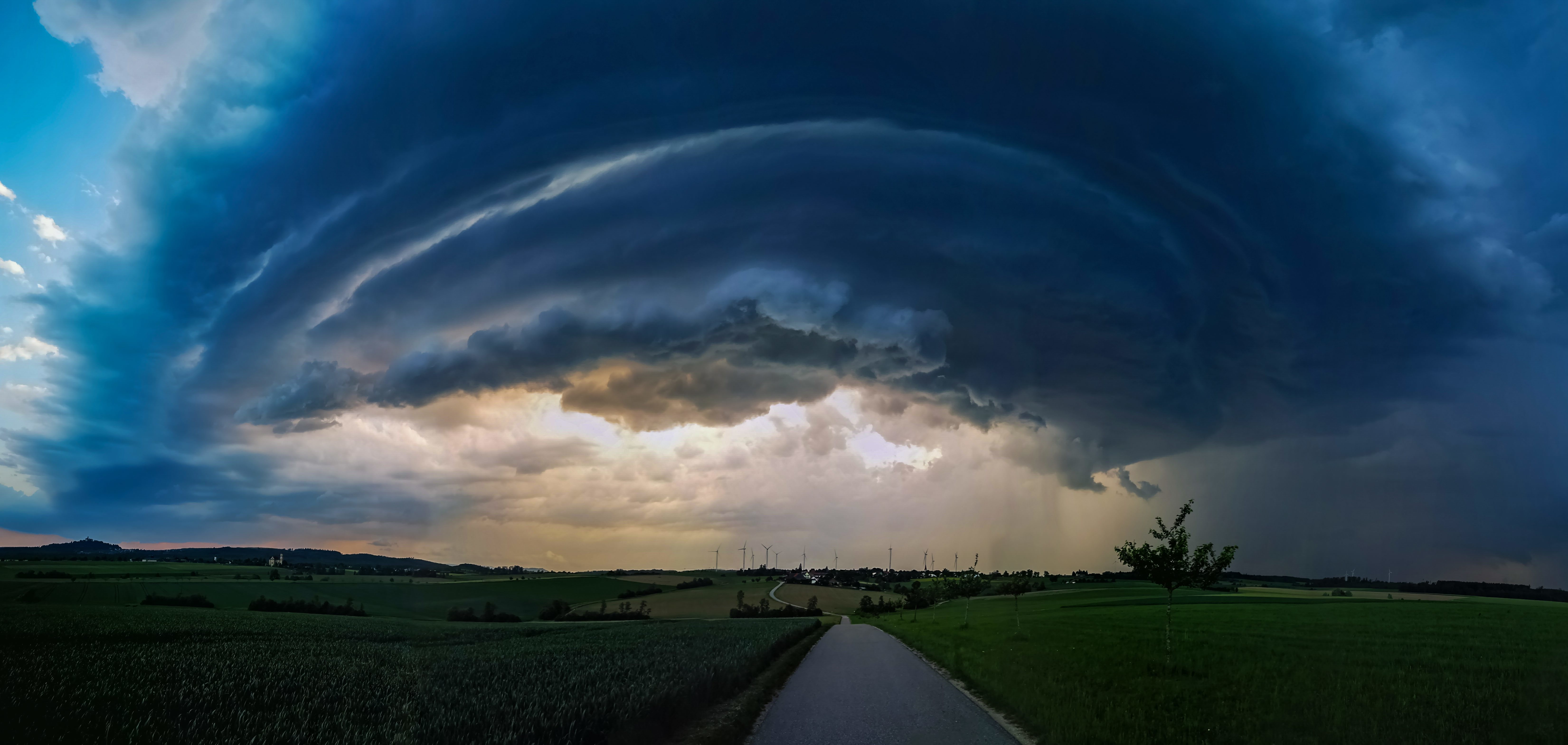 Supercell, Baden-Wuerttemberg, Germany