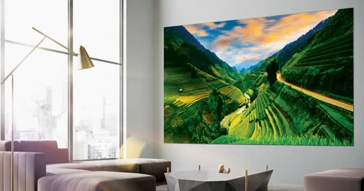 Samsung Unveils 292-Inch TV Called The Wall At Gadget Show