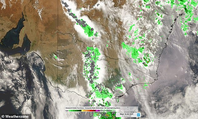 Thunderstorm Weather Map Australia Weatherzone 2Thunderstorm Weather Map Australia Weatherzone 2