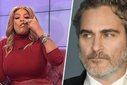 Wendy Williams Joaquin Phoenix