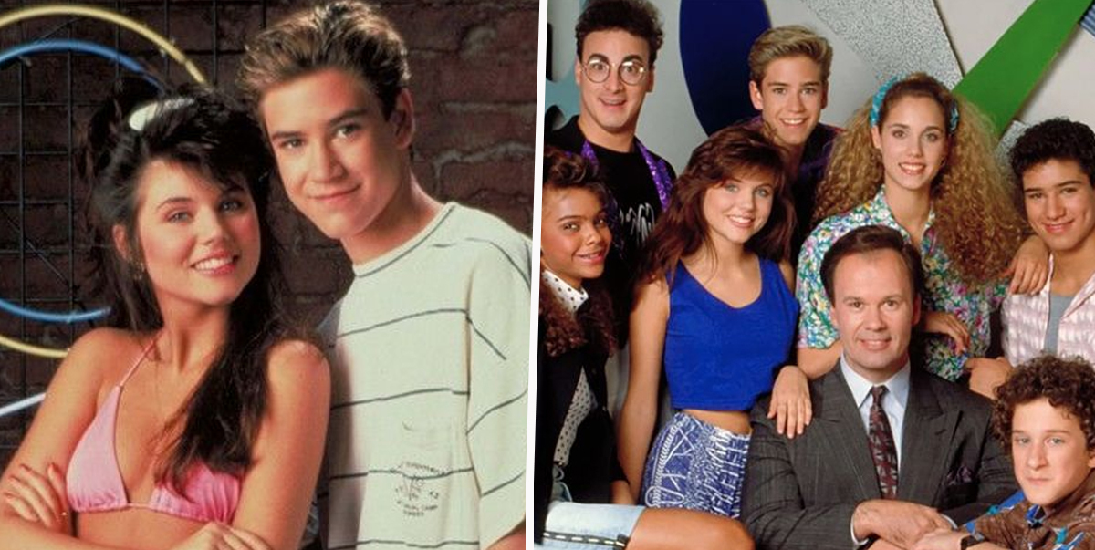 Zack and Kelly Saved By The Bell