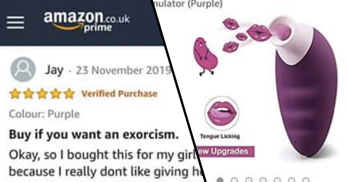 Guy's Review Of Sex Toy So Good His Girlfriend 'Nearly Killed Him' Gets Five Stars