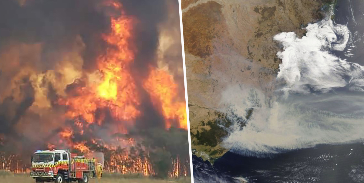 Australian Bushfires Are So Out Of Control They're Generating New Weather Patterns