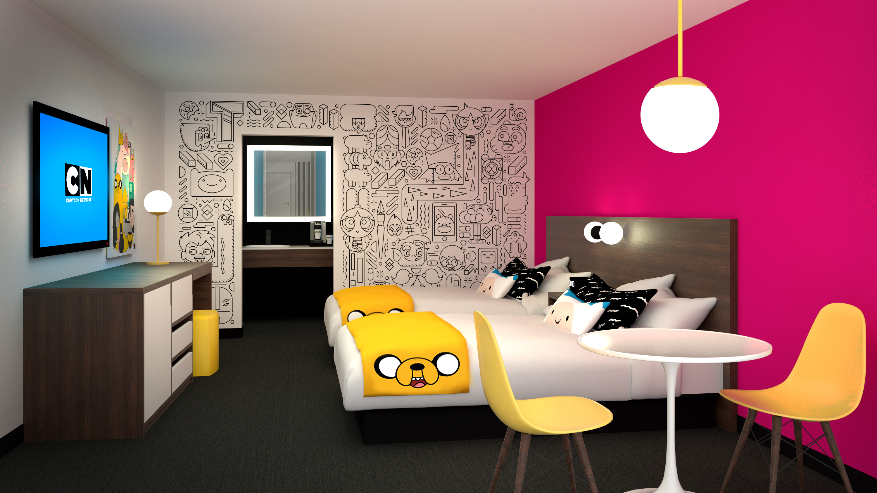 World S First Ever Cartoon Network Hotel Just Opened Unilad