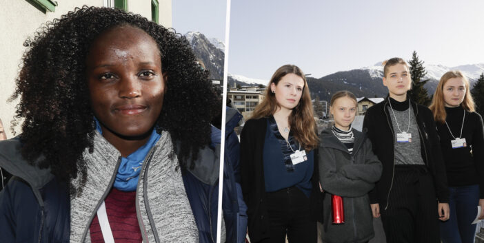 Climate Activist Responds To Racist Photo Crop With Four White Peers