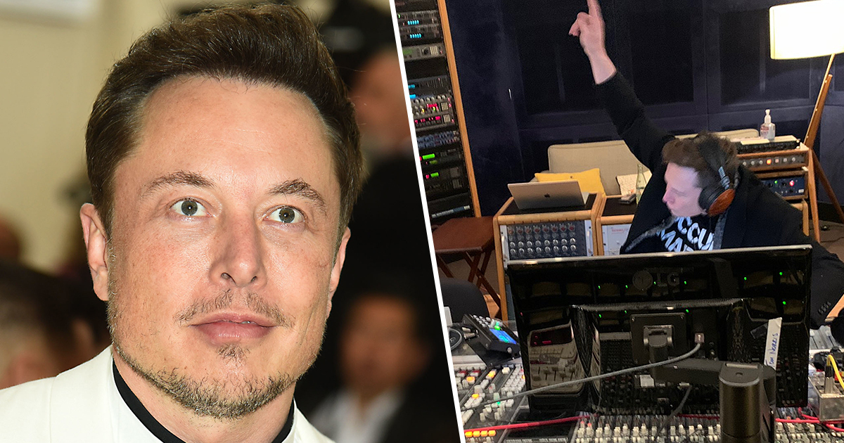 Elon Musk Just Dropped New EDM Song On SoundCloud