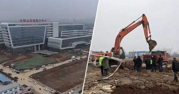 China Completes 1,000-Bed Coronavirus Hospital In Under A Week