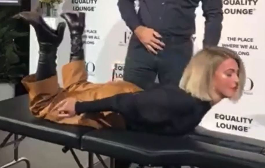 Woman has strange Exorcist-like experience during healing fad
