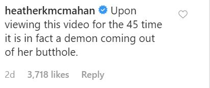 Viewers commenting on video of woman being 'exorcised'