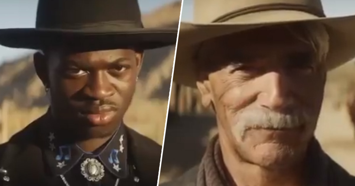 Lil Nas X and Sam Elliott go head to head in Doritos ad