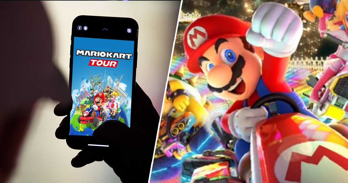 You Can Now Race Mates In Mario Kart On Mobile For The First Time Ever