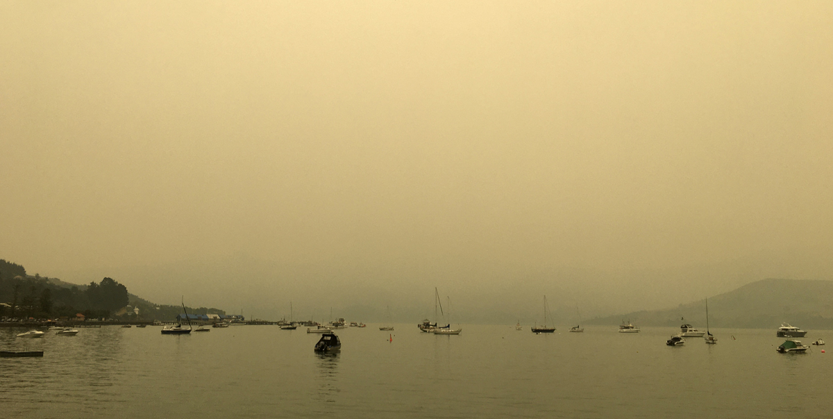 Smoke From Australia's Bushfires Start To Cloud New Zealand