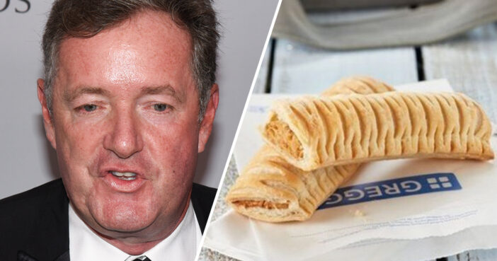 YouTuber Writes Erotica About Piers Morgan Having Sex With Greggs Vegan Sausage Roll