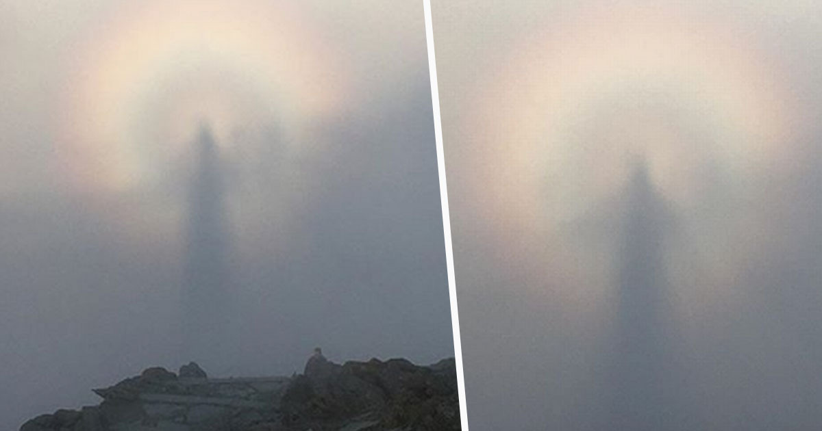 Man Who Scaled Mountain For First Sunrise Of 2020 Captures Rare Phenomenon