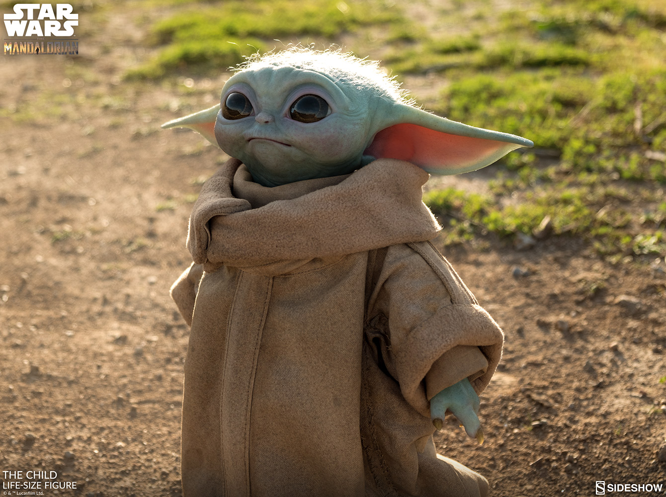 Life size Baby Yoda available for pre-order