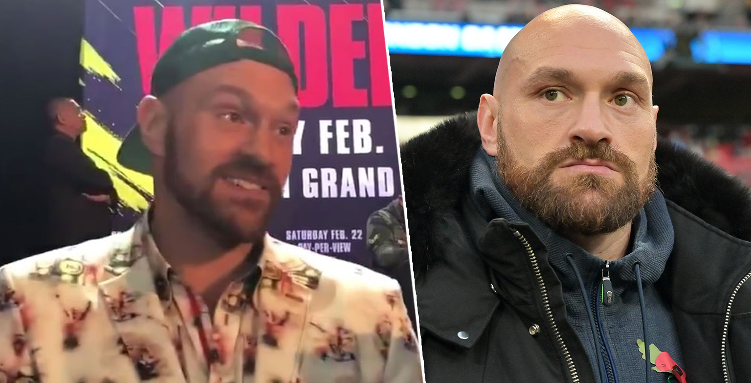 Tyson Fury Says He's Masturbating 7 Times A Day To Prepare For Deontay Wilder Rematch