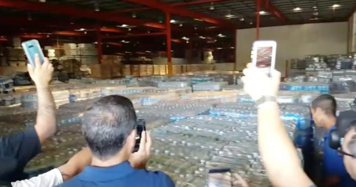 Puerto Ricans Furious After Discovering Warehouse Full Of Hidden Emergency Supplies
