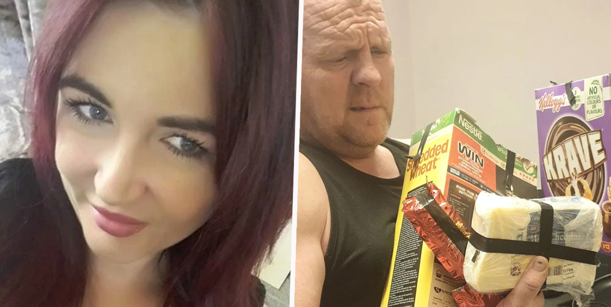 Mum Tapes Up Husband's Snacks Because She's Sick Of Him Eating Everything