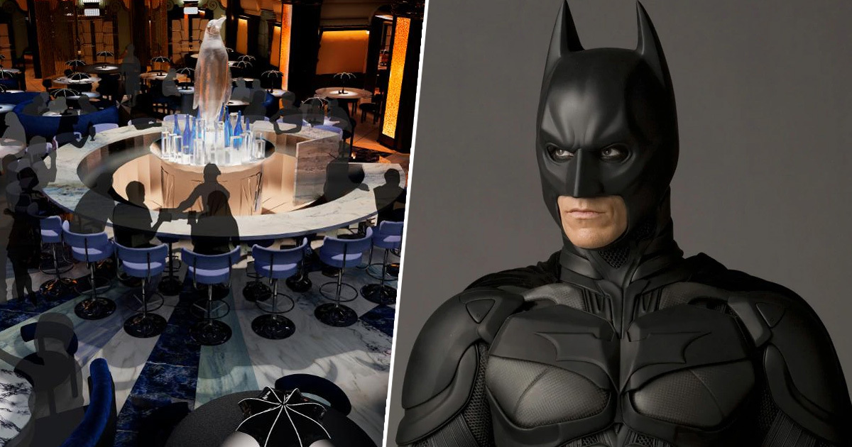 World's First Batman-Themed Restaurant To Open In London