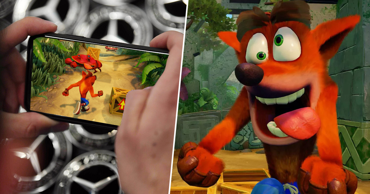 Crash Bandicoot Is Coming To Mobile, Huge Leak Reveals