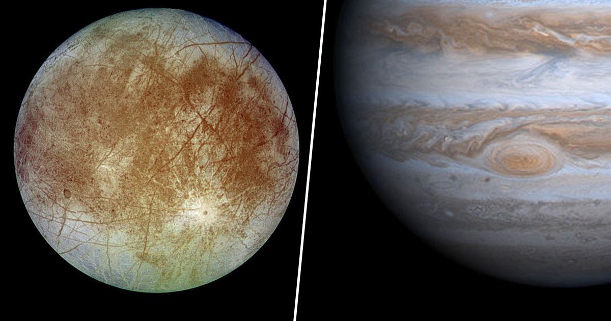 Europa Jupiter Moon Thumb