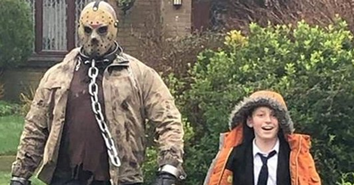 Jason Voorhees Seen Picking Up Boy From School In Plymouth