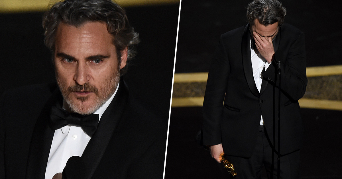Joaquin Phoenix Paid Tribute To Brother River In Emotional Oscars Acceptance Speech