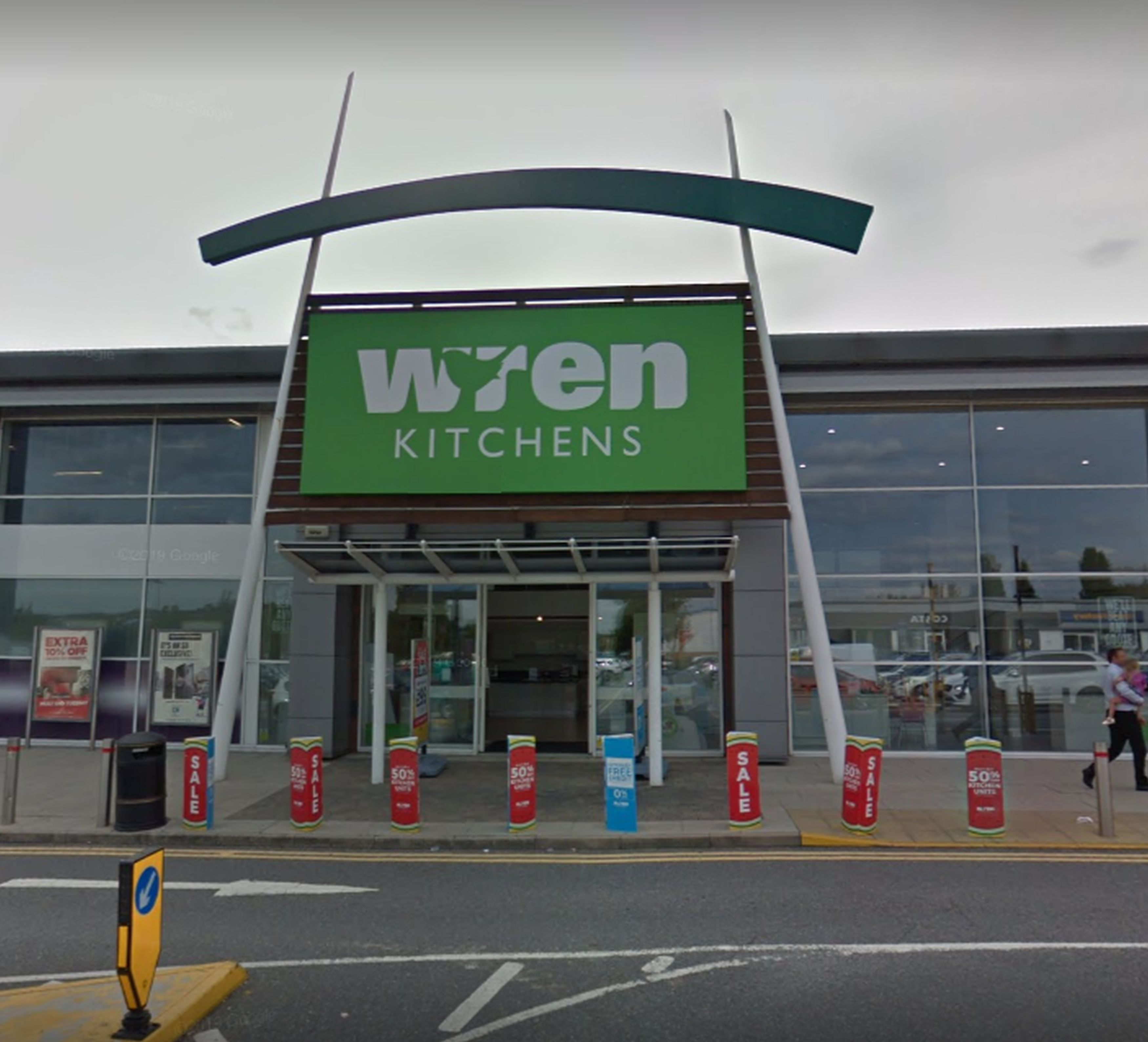 Wren Kitchens store where delivery driver was accused of being racist