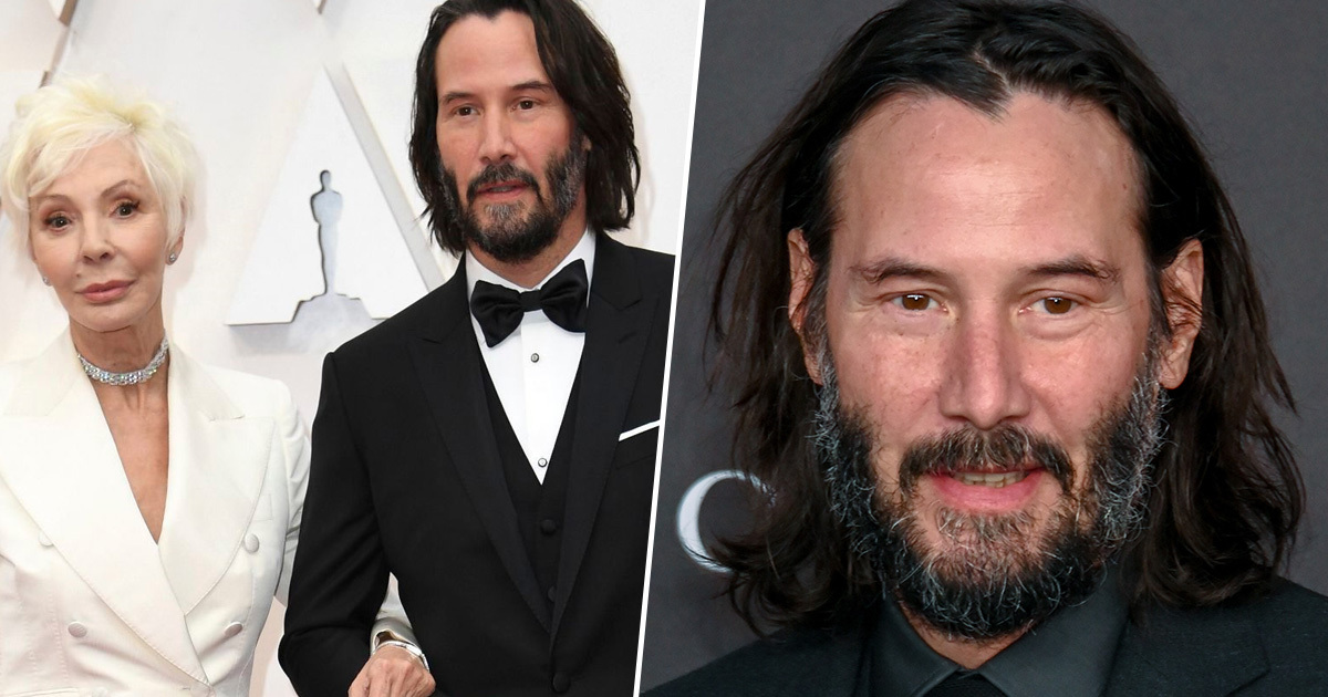 Keanu Reeves Brought His Mum As His Date To The Oscars