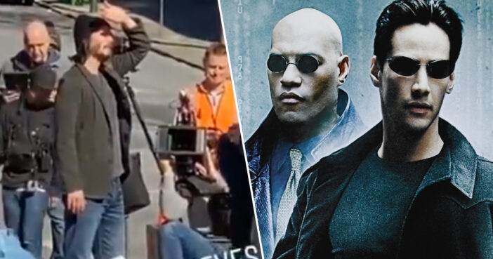 Keanu Reeves Set Photos Give First Look At Neo In Matrix 4