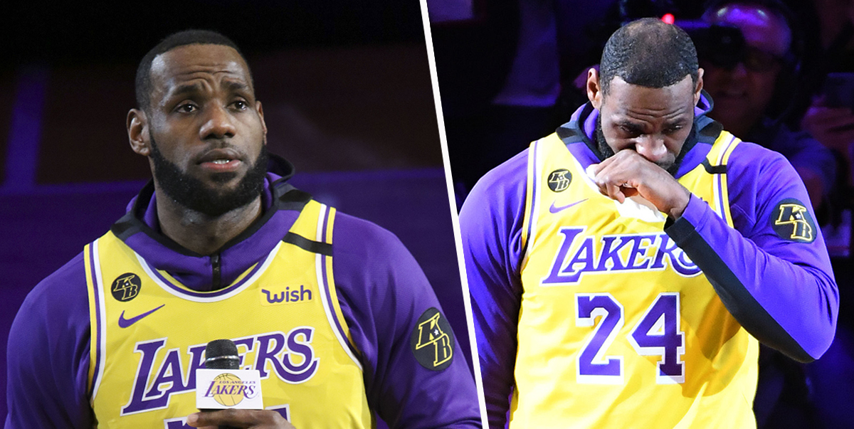LeBron James Pays Tribute To Kobe Bryant With Emotional Eulogy At Lakers Game