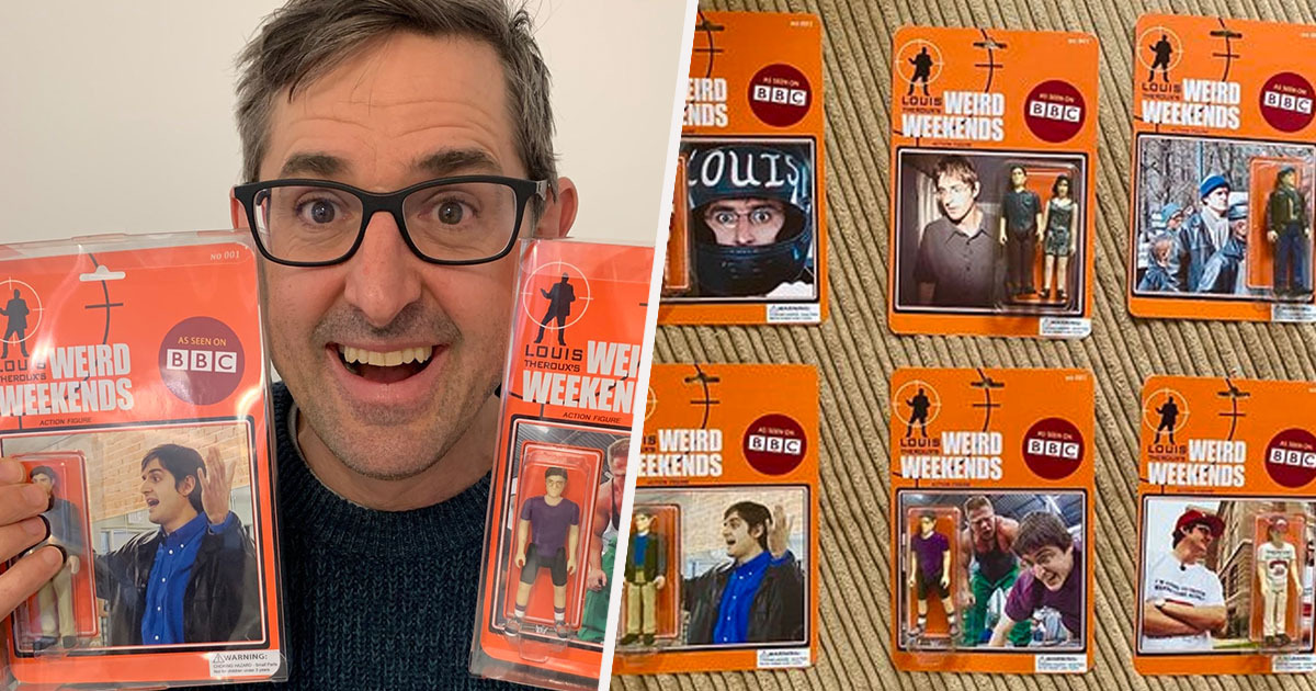 Louis Theroux Action Figures
