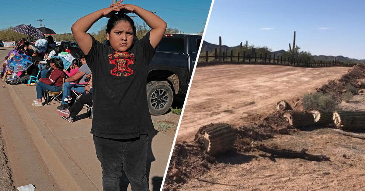 Tribal Nation Condemns Desecration Of Sacred Site To Build Trump's Border Wall